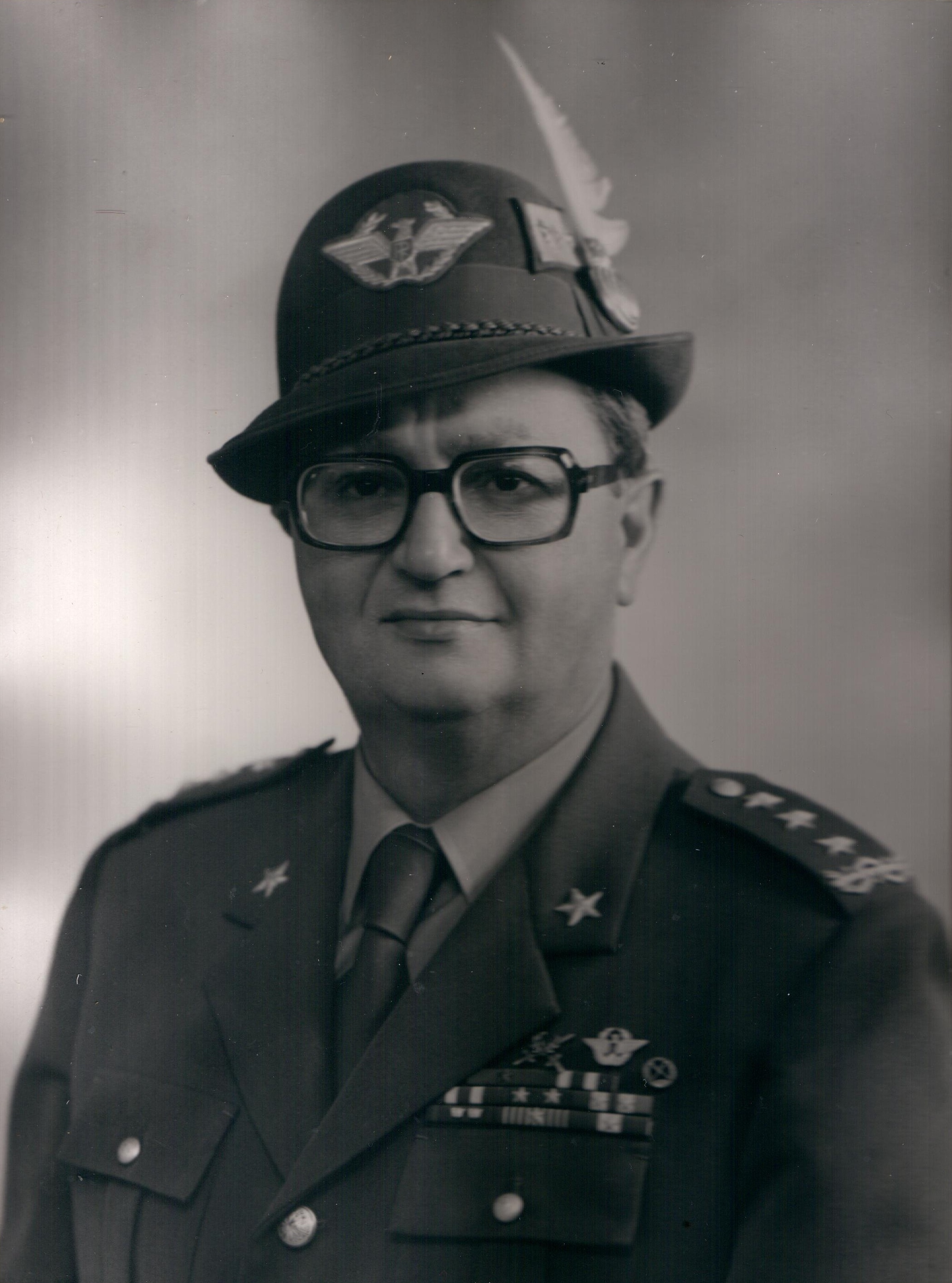Il Gen. C.A. Lorenzo Valditara, Comandante le TT.AA. (1978-1981)