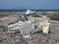 SICILIA, FAVIGNANA: L'ETERNO PROBLEMA DELL'ETERNIT