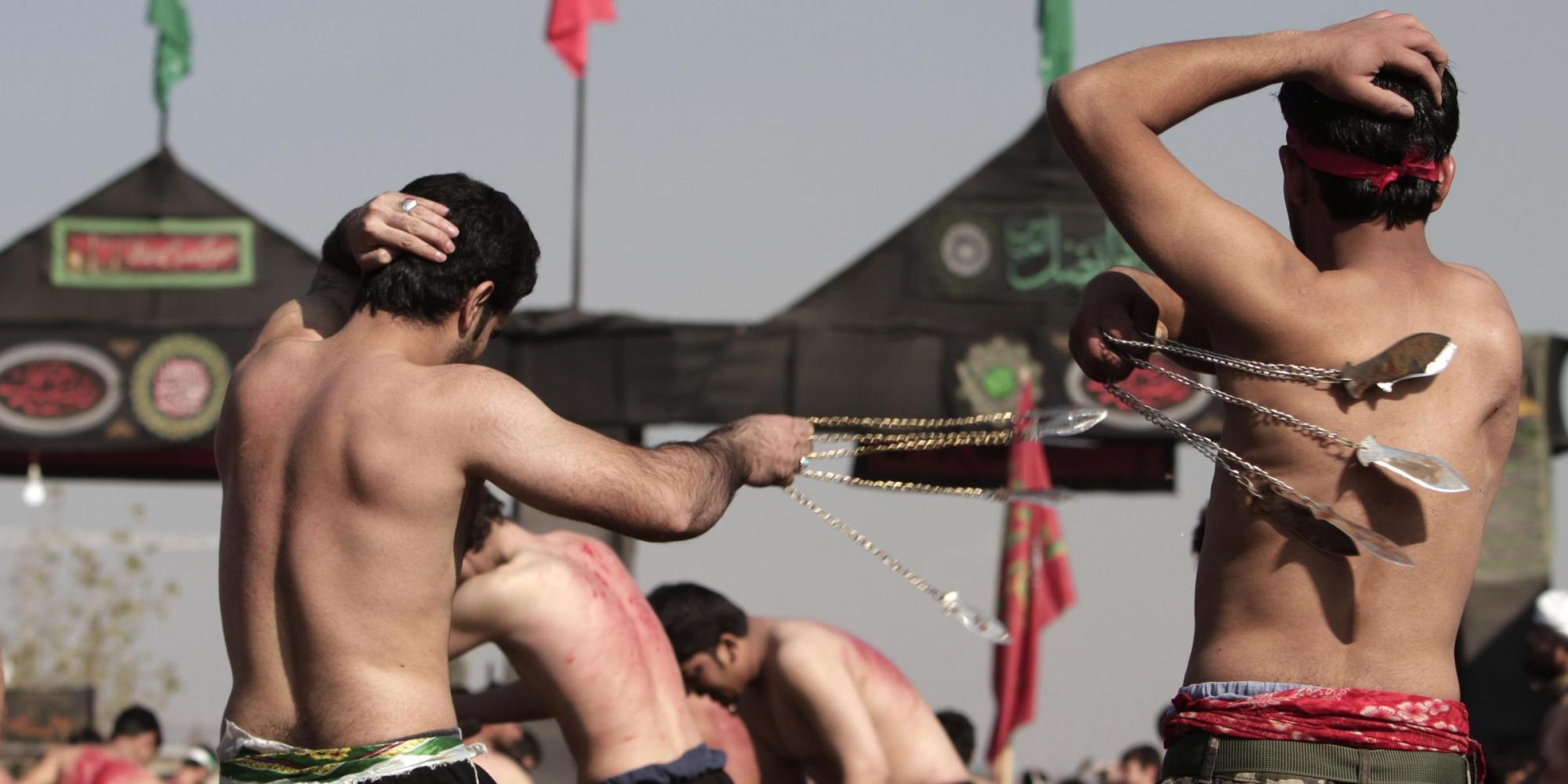 L'Ashura degli sciiti, festa sacra di autoflagellazione