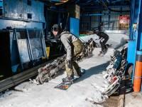 REDBULL GIRA VIDEO DI SNOWBOARD NELLA SKI-RESORT FANTASMA DEL KANIN