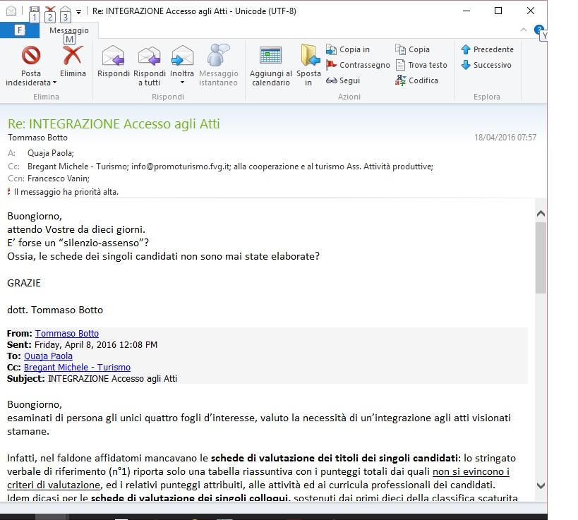 e-mail promoturismoFVG