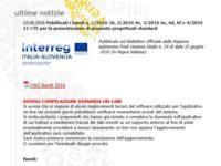 Fondi UE Italia Slovenia 2014-20: tutto da rifare