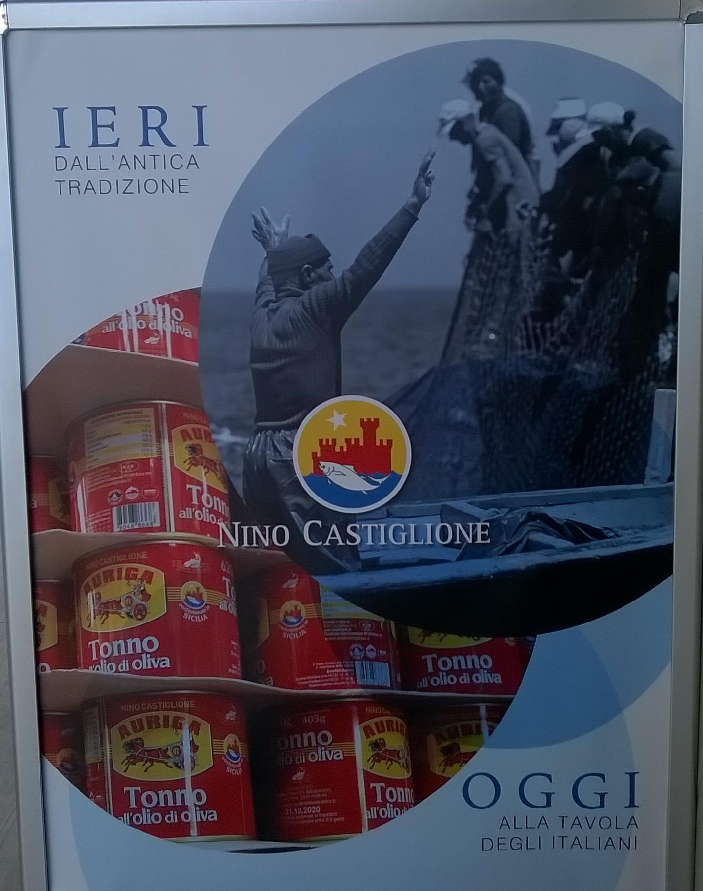 tonno castiglione FLORIO Favignana