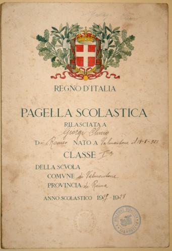 pagella cartacea italia
