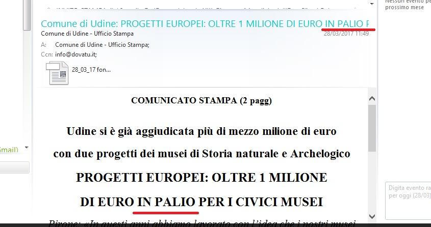 fondi UE come una lotteria